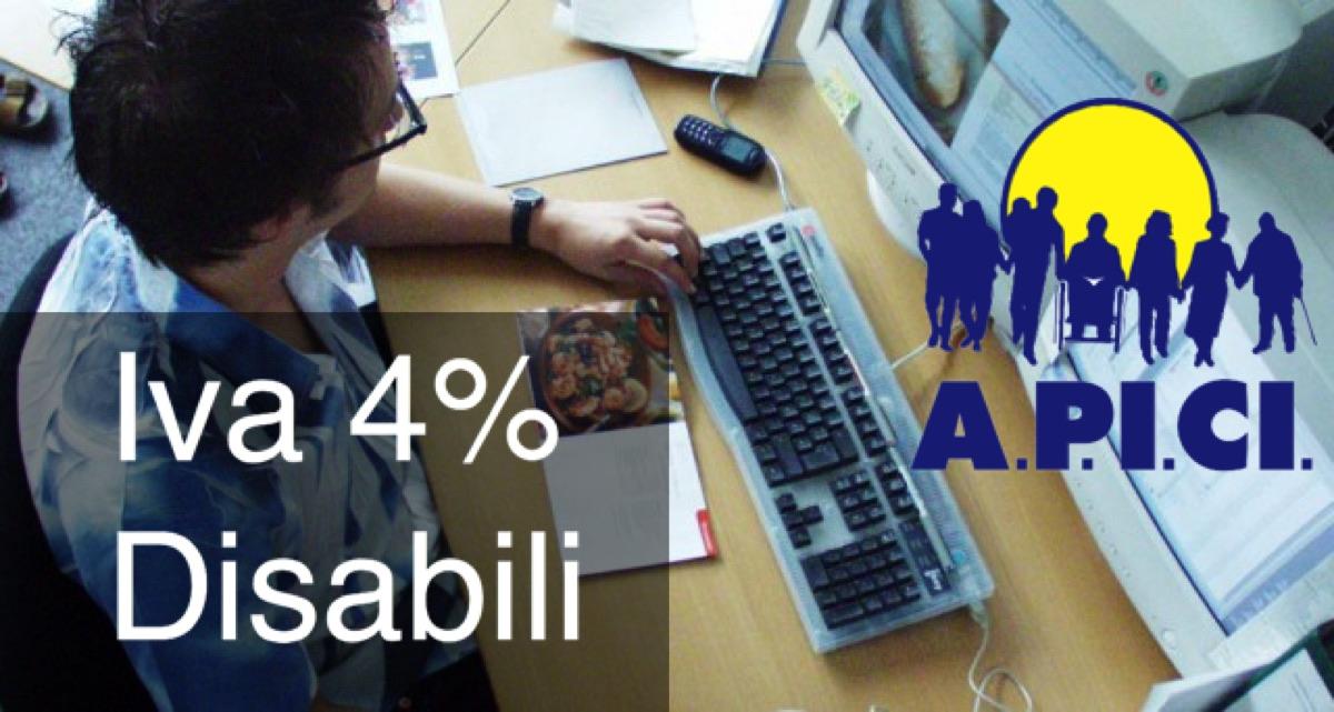 Acquistare cellulare e computer con l'Iva agevolata al 4% anzichè al 22%.